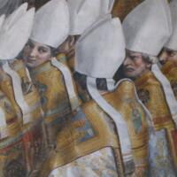 """El inocente beso que causó la ira de """"Dios"""" en el Vaticano"""