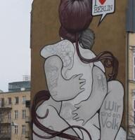 Bandadas en el cielo de Berlín